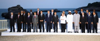 Sisi arrives for dinner with G7 leaders in France