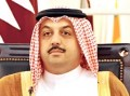 Qatari FM arrives in Cairo