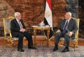 President Mansour discusses with Abbas latest Palestinian developments