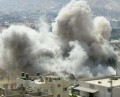 Syrian airstrikes on Arsal town