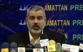 Haniyeh thanks Egypt for facilitating entry of building materials into Gaza