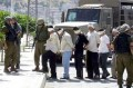 Israeli army arrests 8 Palestinians in West Bank