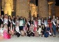 Beauty queens arrive in Luxor for Miss Eco Universe 2016