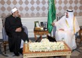 Azhar Grand Imam meets visiting Saudi King