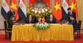 Sisi, his Vietnamese counterpart witness signing nine MOU, cooperation programs