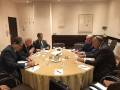 Shoukry holds talks with Palestinian FM in Athens