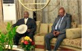 Sudanese president heads for Uganda