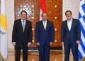 Sisi leaves for Nicosia to participate in trilateral summit