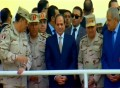 Sisi attends inauguration of development projects in Ismailia