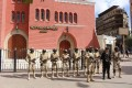 Army, police intensify security measures around places of worship