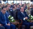 Sisi arrives at 10th of Ramadan city to inaugurate development projects