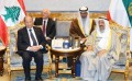 Kuwaiti emir, Lebanese president discuss bilateral relations