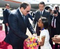 Sisi arrives in Addis to participate in AU Summit