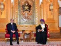 Sisi meets with Omani businessmen in Muscat