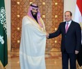 Sisi, Saudi CP witness signing of bilateral agreements