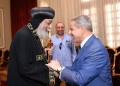 Pope Tawadros receives Saudi minister of African affairs