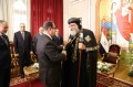 Interior minister visits Pope Tawadros on Easter