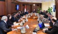 Prime minister presided over meeting to review government program in oil sector