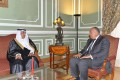 Shoukry discusses with Saudi minister bilateral ties, regional developments