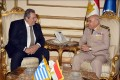 Egyptian, Greek defense ministers discuss military cooperation