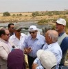 Environment min. inspects renovation of Wadi Rayan reserve in Fayyoum