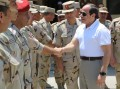 Sisi performs Friday prayers at northern military zone command HQ
