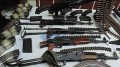 146 weapons seized during security campaign over past 24 hours