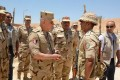 Chief-of-Staff inspects number of security check points east of Suez Canal