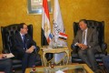 Transport min. confers with French amb. on boosting cooperation in railway, metro sectors