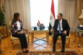 Makram, Taalat discuss improving postal services for Egyptian expats