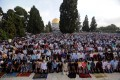 100, 000 worshippers perform Eid prayers at Aqsa mosque