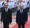 Sisi to meet Vietnamese counterpart to probe promoting joint coop.