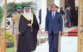 Sisi arrives in Manama on visit to Bahrain