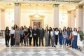 Cairo University president meets Italian students