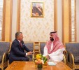 Saudi CP discusses economic cooperation with Jordanian king