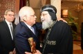 Pal't speaker condoles with Pope Tawadros II over Minya attack victims