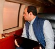 Sisi inspects Suez Canal tunnels project