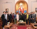 Pope Tawadros receives S. Korean delegation in Egypt for visiting Holy Family Journey