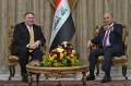 Iraqi president, Pompeo discuss bilateral relations in Baghdad