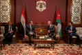Egypt, Jordan leaders call for resumption of Palestinian-Israeli talks
