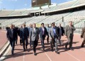 PM visits Cairo stadium to inspect AFCON 2019 preparations