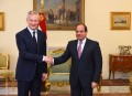 Sisi holds talks with France's finance minister