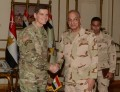 Defense min. meets US CENTCOM commander