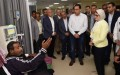 PM praises health services in Luxor hospital