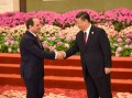 Sisi attends dinner banquet hosted by China's president