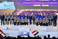 Sisi honors national handball team, distinguished young people at youth conference